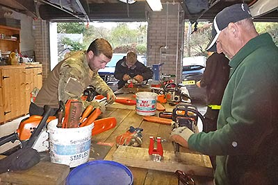 chainsaw maintenance training